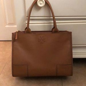 Tory Burch Brown Tote/Laptop Bag